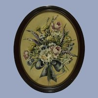 Floral Still Life Janet E. Greenleaf Oil Painting