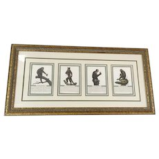 Monkey Prints Beautifully Framed