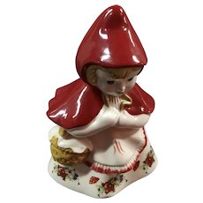 Vintage Little Red Riding Hood Cookie Jar McCoy