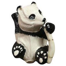 Vintage Panda Bear Teapot Beswick England