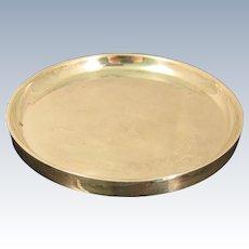 Modernist 1950s Italian 800 Silver Dish by Nella Longari