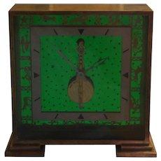 Jaeger LeCoultre Skeleton Zodiac Clock 1960s
