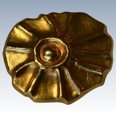Lalaounis Greece A21 18K Yellow Gold Brooch/Pin