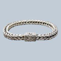 John Hardy Classic Sterling Silver 6mm Chain Bracelet