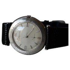 Authentic Vintage 14K White Gold Le Coultre Men's Manual Wind up Watch