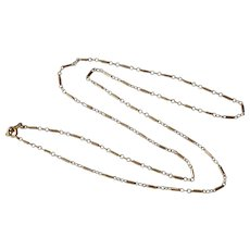 14K Yellow Gold Link Chain Necklace