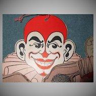 Evil Pierrot Clown Halloween Decoration