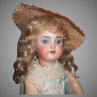 "Adorable 16.5"" Simon Halbig Heinrich Handwerck Doll"