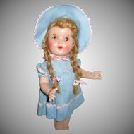 "17"" Adorable Composition Doll"