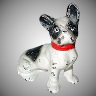 Cast Iron French Bulldog Dog Paperweight