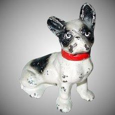Cast Iron French Bulldog Dog Paperweight