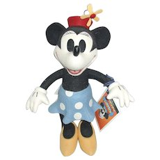 R John Wright LE 500 Minnie Mouse Doll Disney Original Box