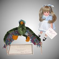 Madame Alexander 1993 Alice and the Jabberwocky Doll LE 500 Original Box