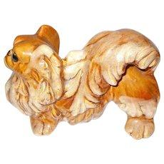 Cute Seldom Found Royal Haeger Pekingese Dog Figurine
