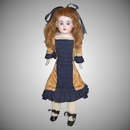 Darling Cabinet Sized Heubach Doll