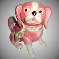 Adorable Celluloid Pekingese Dog Or Puggle Dog What A Character