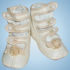 Adorable Baby Doll 3 Strap Shoes