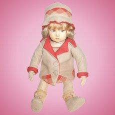Adorable Lenci Doll Fabulous Outfit