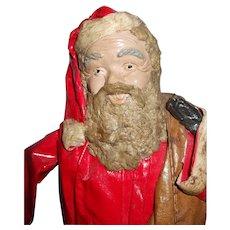 Vintage Paper Mache Santa Claus