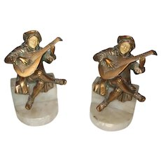 Fabulous Jester Bookends With Great Detail