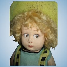 Adorable Early Lenci Series 111 Doll