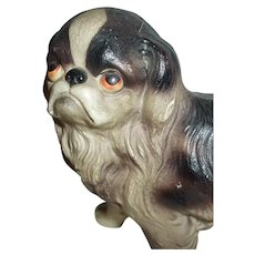 Darling Celluloid Japanese Chin Dog