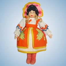 Wonderful Lenci Mascotte Doll