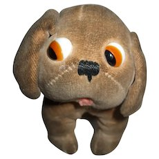 Adorable Googly Eyed Dinky Dog Designed By Chloe Preston Cute Doll Display ~Wait For Invoice~