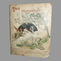 The Nursery Alice From Alice In Wonderland By Lewis Carroll 1890