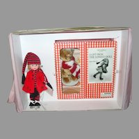 """8"""" Edith The Lonely Doll With Bear Holiday Trunk By Madame Alexander"""