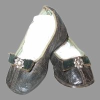 """Early Darling Little Slip On Shoes For A Large Doll 4"""""""