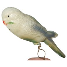 Cute Celluloid Parrot Bird