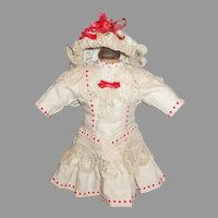 Lovely Doll Dress And Hat