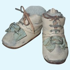 Adorable Artisan Made Doll Shoes