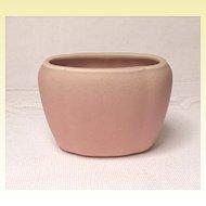 Rookwood Pink Oval Petite Matte Finished Vase - 1928