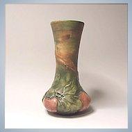 "Vintage Weller Baldin Apple Vase - 7"""