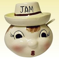 Vintage MIJ - Made In Japan Jam Jar - 1960's