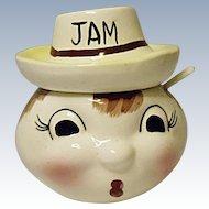 Vintage MIJ - Made In Japan Jam Jar - 1960's