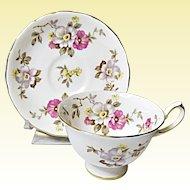 Vintage Royal Chelsea Bone China English Tea Set Pattern #3881A