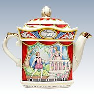 Sadler - Romeo & Juliet Teapot - Classic Collection - Savoy Shakespeare Series #4445