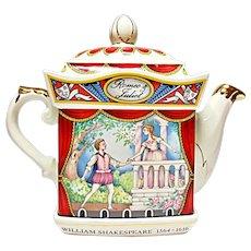 Sadler - Romeo & Juliet Teapot - Classic Collection - Savoy Shakespeare Series #4445