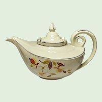 Vintage Hall Autumn Leaf Aladdin Jewel Tea Premium - Teapot