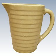 Vintage Western - Monmouth Stoneware Molasses, Syrup - Milk Pitcher - Jug - 1940's