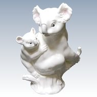 Noritake Bone China Studio Collection Koala and Baby - 1976