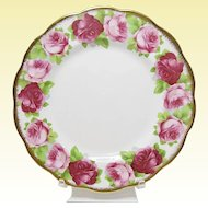 "Vintage Royal Albert Bone China - Old English Rose - 8"" Salad Plate"