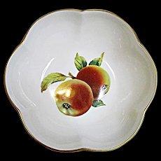 Royal Worcester - Evesham Gold - Fine Porcelain - Small Scalloped Melon Bowl