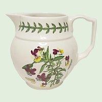 Vintage - Portmeirion Botanic Garden - Heartsease - Viola Tricolor - Creamer