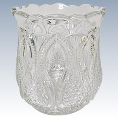 EAPG - SPOONER - Ca. 1900 - 1908 - U.S. Glass New Jersey Pattern 15070 aka Loops and Drops