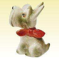 Vintage Made In Japan - Nihon Yoko Boeki Co. - Schnauzer Or Scottie Dog Figurine - MIJ