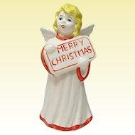 Vintage Goebel Merry Christmas Angel - W. Germany Marked 41132